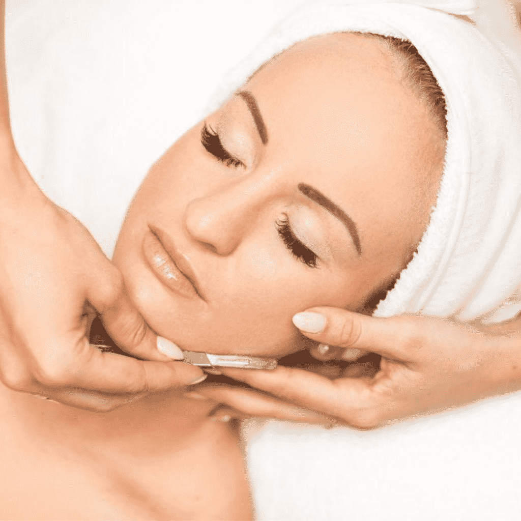 Dermaplaning Facial Treatment in Laval